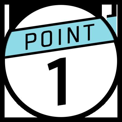ポイント 1