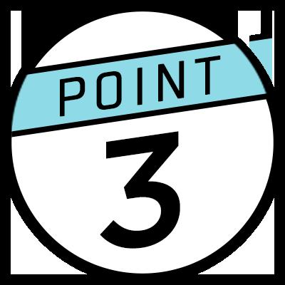 ポイント 3